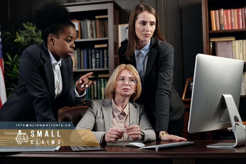 Paralegal-service-small-claims-section-2-aj-law-llp