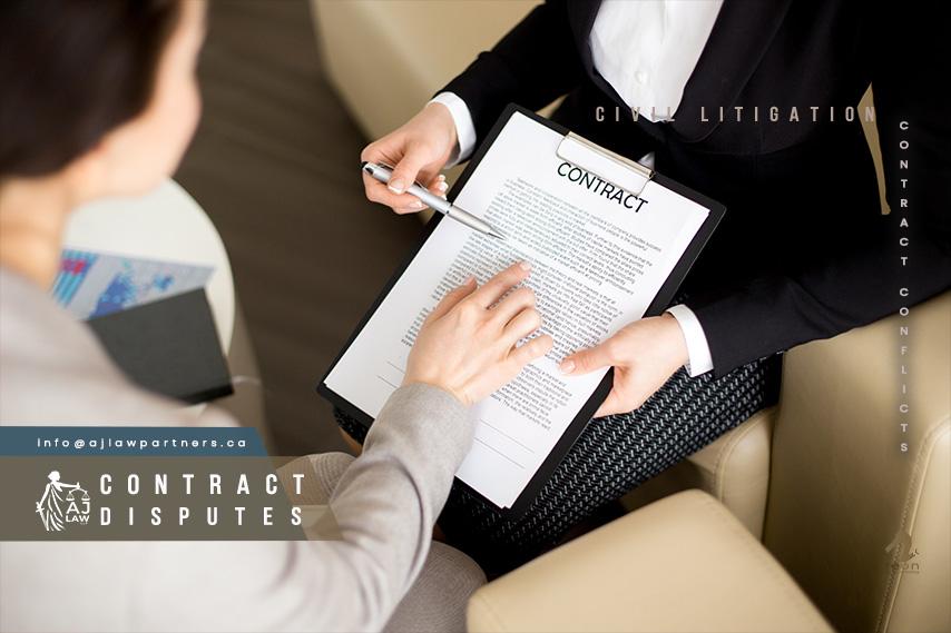 Contract-Disputes-civil-litigation-ajlaw-llp