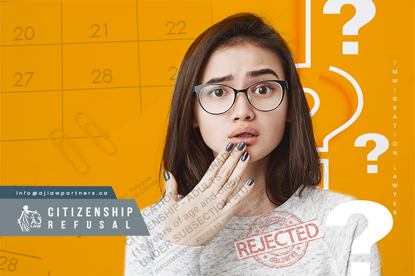 Canadian-Citizenship-Refusal-Filipino-Immigration-Lawyer-AJ-Law-LLP-Woman-surprised-with-rejected-result