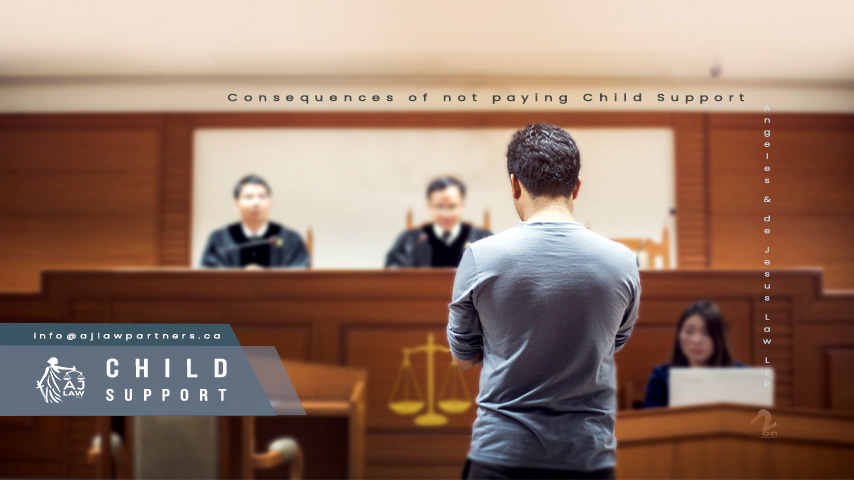 consequences-Child-support-family-lawyer-toronto-aj-law-llp